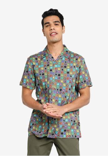 Desigual grey Dots Printed Shirt 773D2AA63A723AGS_1