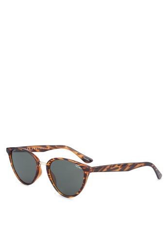 Quay Australia brown RUMOURS Sunglasses QU661GL0S8MKMY_1