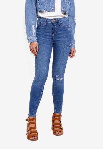River Island blue Molly Isabella Jeans 5AF4DAA819450BGS_1