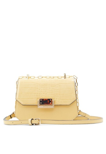ALDO yellow Felle Crossbody Bag D3DA4ACB077A09GS_1