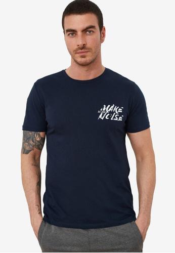 Trendyol navy Slim Basic T-Shirt 47815AABD26BCDGS_1