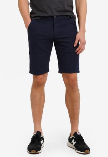 High Cultured 海軍藍色 休閒 短褲 HI002AA0S1VJMY_1