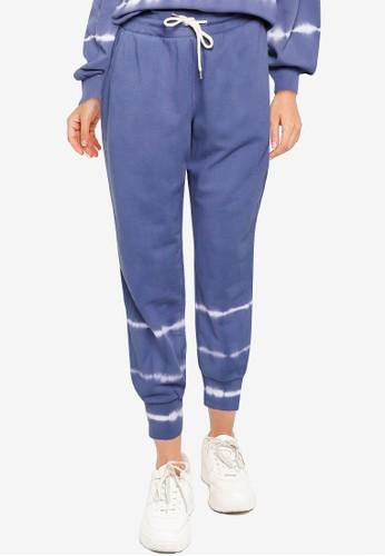 GAP blue Rib Jogger Pants 226BFAAF0934F3GS_1