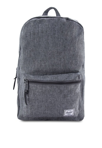 Herschel grey Settlement Backpack HE114AC10SIVMY_1