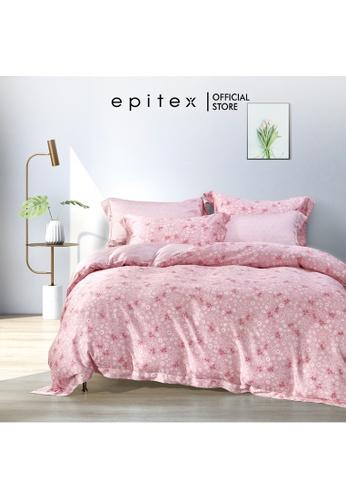 Epitex Epitex BP5310 Bamboo 1000TC Xhale Printed Bedsheet - Bedset - Bedding Set (w quilt cover) C4A69HL65AD3B7GS_1