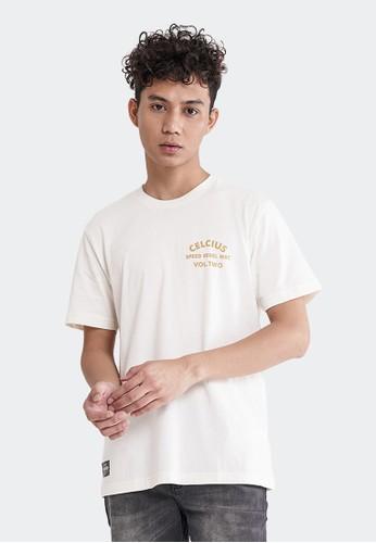 Celciusmen white Kaos Graphic Speed Rebel Celcius A07493C Free Gantungan Kunci AA050AAA765A80GS_1