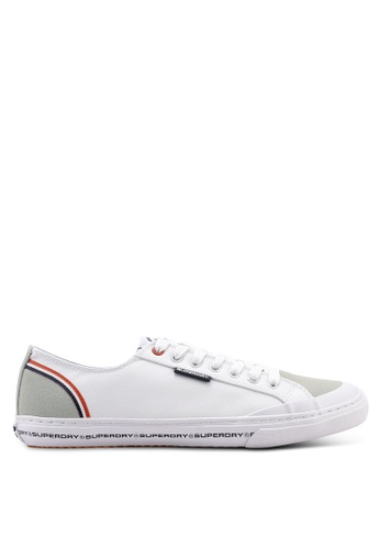Superdry white Low Pro Retro Sneakers A69A6SH06F8F9EGS_1