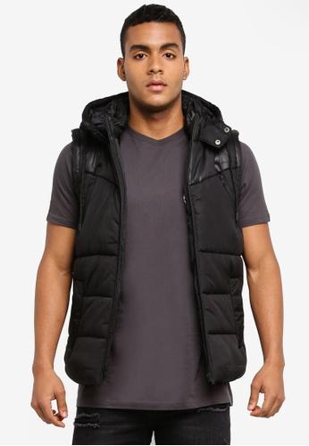 Factorie black Summitt Puffer Vest 85656AA022ACEFGS_1