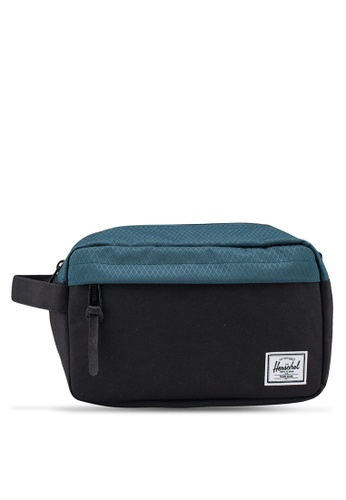 Herschel black Chapter Carry On Pouch 9EB86AC5B3DCBAGS_1