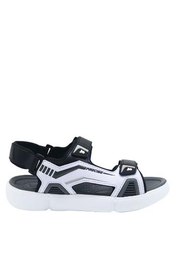 Precise white Precise Cartenz SG Sandal Gunung - Putih/Hitam 7E171SH1CE26F7GS_1