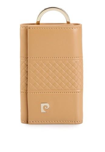 PIERRE CARDIN brown Pierre Cardin Deantha Col. 01 Key Case - Tan C4644AC0A7098DGS_1