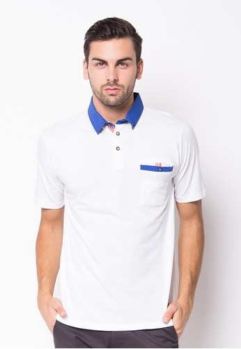 R U S S VENTURA White Polo Shirt
