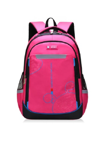 Twenty Eight Shoes pink VANSA Nylon Backpacks VAK-Bp1901 B9C17KC9E0CF95GS_1