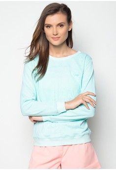 Long Sleeves Textured Pullover