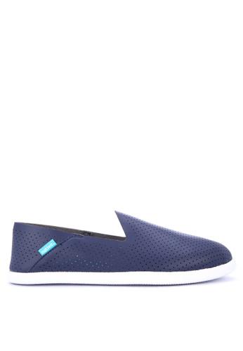 Native blue Malibu Loafers 96A3ESH7C9B0FCGS_1