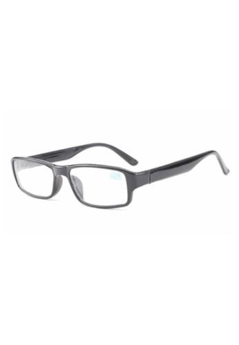 Hamlin black Xise Kacamata Rabun Jauh Myopia Vintage Retro Minus 1 Material PC ORIGINAL - Black 1E267GL50E7107GS_1