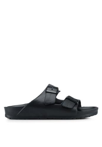 OVS black Beach Sandals 36426SHC913287GS_1
