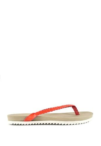 STEFANIA BALDO orange Jennilynn Sandals ST294SH76HVRID_1