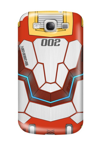 Wonder Cover red Mecha JD002 Glossy Hard Case for Samsung Galaxy S3 WO617AC43DWQPH_1