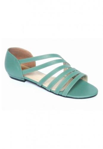 MIKA green and blue Fairy Turgouise Flats MI737SH11WNKID_1