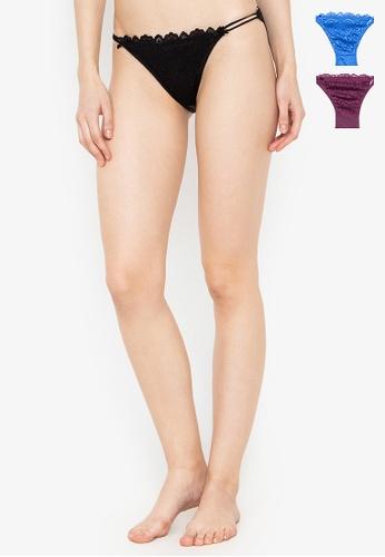 KARA multi 3-in-1 Rose Panty Pack 064D1US98B57B2GS_1