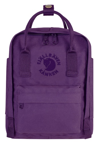 Buy Fjallraven Kanken Deep Violet Re Kanken Mini Backpack  ec9660590