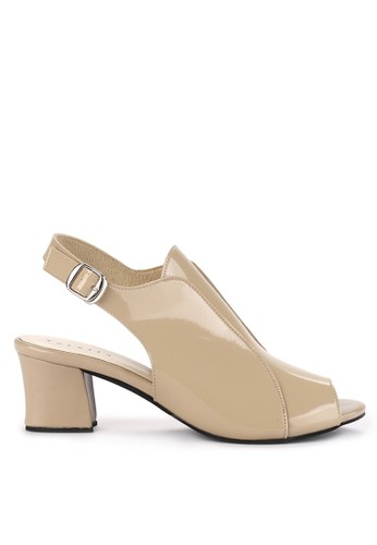 Totally brown Chunky Heels By Dev 3 81B79SH59B556AGS_1