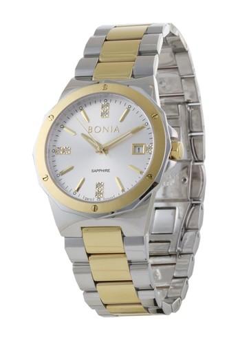 BONIA gold and silver Bonia BP10447-2112 - Jam Tangan Wanita - Silver Gold 76EAFAC97EC6F2GS_1