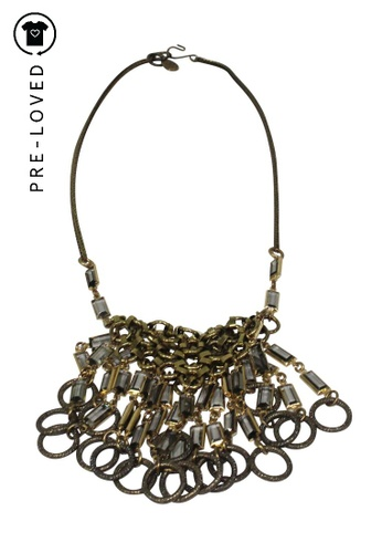 Anton Heunis gold Pre-Loved anton heunis Gold Chunky Necklace E2F5FAC2F68BF1GS_1