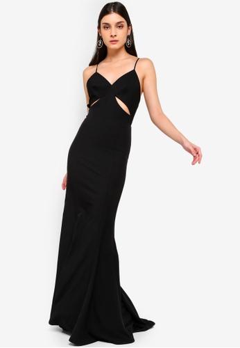 JARLO LONDON black Priscilla Dress BFA49AAB3A336EGS_1