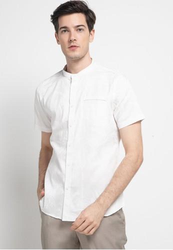 Manzone white NURUZ-WHITE Shirt 6A4A3AA869988BGS_1