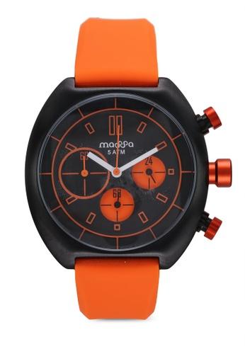 Massa Collections orange Vigo Orange Silicon Sporty Watch B83D4ACB74B3CEGS_1