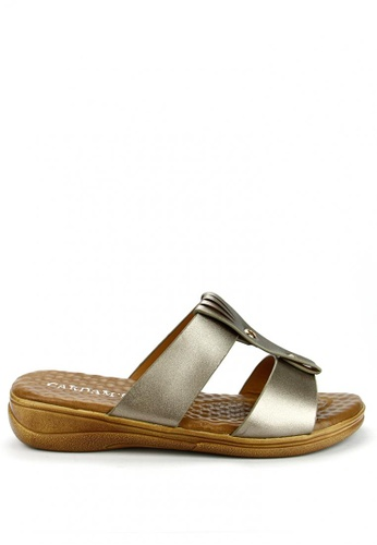 Cardam's Lifestyle brown Odette Casual Sandals CA993SH94AORPH_1