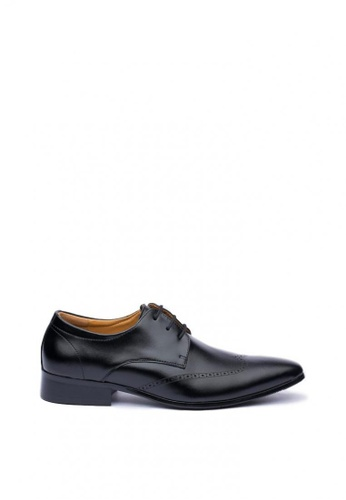 Kings Collection black Wallingford Oxford Shoes 55EBFSH12E5B20GS_1