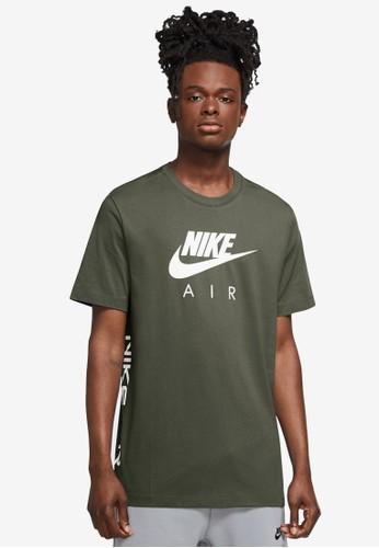 Nike green Men's Air Tee 6001FAAC38A3FBGS_1