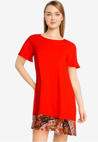 Desigual red Kali Dress 49978AA8B69C6BGS_1