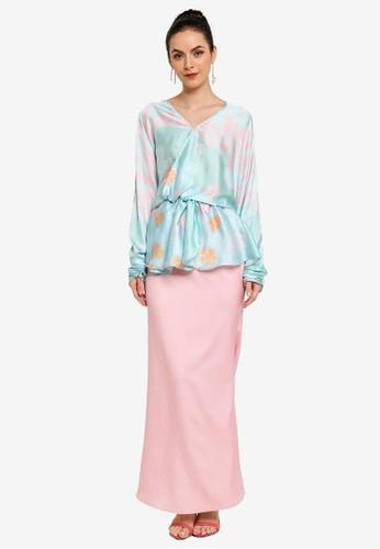 TAS by Tom Abang Saufi pink and blue Alo Kurung 2B4F2AA22F4E25GS_1