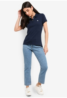 ab0aadf4b7053 18% OFF Abercrombie & Fitch Short Sleeve Polo Shirt S$ 88.00 NOW S$ 71.90  Sizes XS S M L