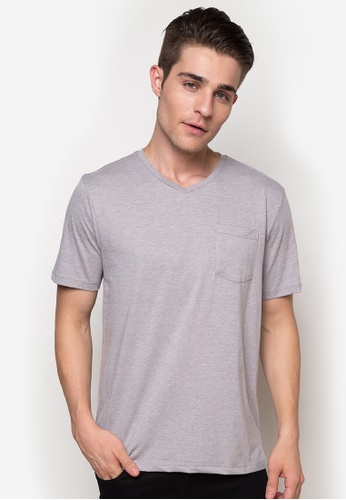 0a036eeb2 Shop Huga Perfect V Neck Pocket Tee Online on ZALORA Philippines