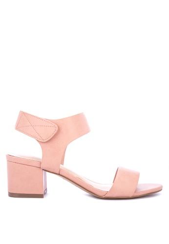 ALDO pink Evonna Heeled Sandals 9504FSHD9A07D8GS_1