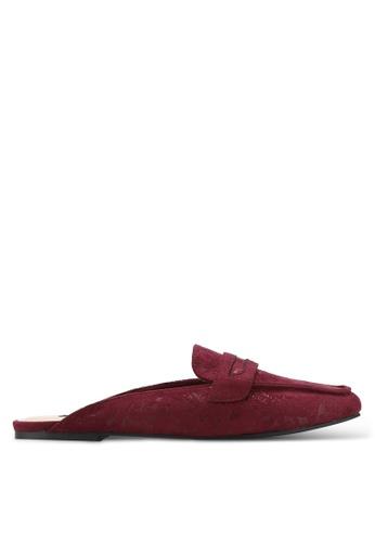 ZALORA red Slide Loafers 9E600ZZ3BD9B1CGS_1