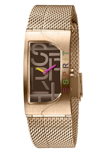ESPRIT gold Esprit Women Houston Bold Brown Rosegold ES1L046M0065 9A05BACFC93872GS_1