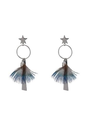 Megane multi Ombree Feather Earrings 795FBAC4E8E9DCGS_1