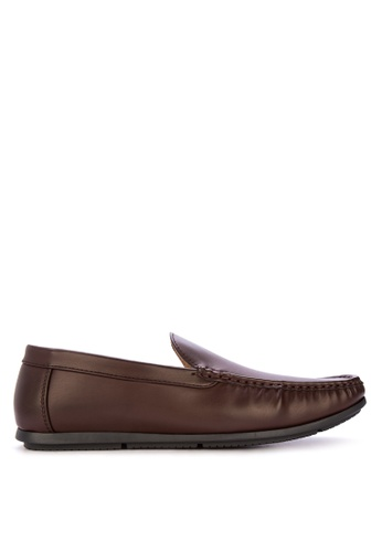 Mendrez brown Warren Loafers & Moccasins 30DB2SHB05955AGS_1