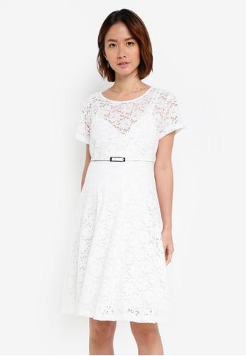 Pietro Brunelli Milano white Rodano Lace Maternity Dress 66B89AA2C47755GS_1