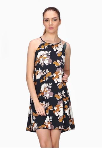 SJO & SIMPAPLY black SJO's Ramidar Black Flower Women's Dress SJ108AA50NGJID_1