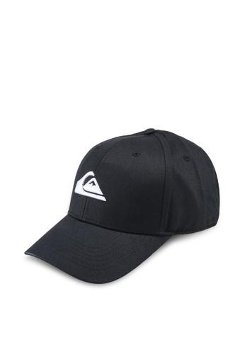 Quiksilver black Decades Snapback Cap 58E19ACB52A990GS_1