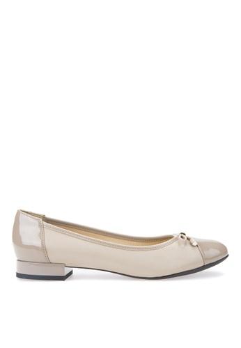 Geox beige Wistrey Ballerina F4CABSHC9C4CA8GS_1