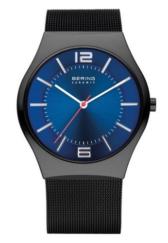 Bering blue Ceramic 32039-447 Blue 39 mm Men's Watch 4A27CAC8FF4B5EGS_1
