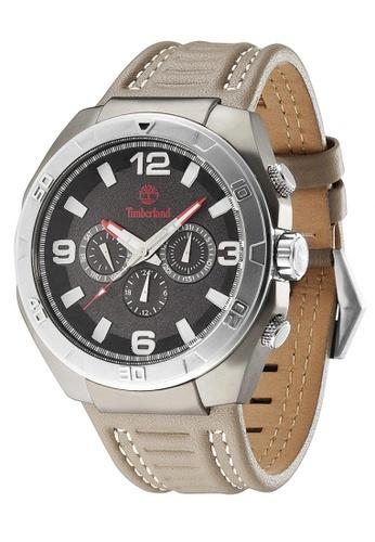 Timberland brown Timberland WARREN Beige  46mm  Men's Watches (TBL.13902JSUS/02) 74C93ACD10FD1BGS_1